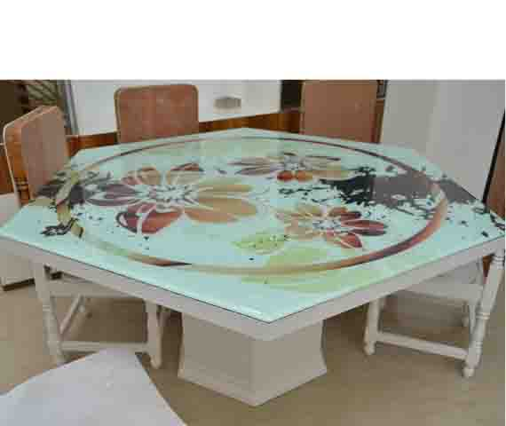 DINING TABLE TOP GLASS