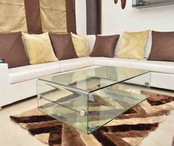 CENTER  TABLE GLASS