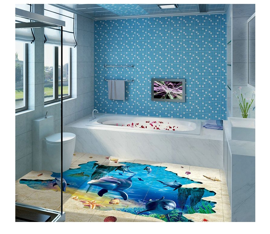 3D FLOOR GLASS