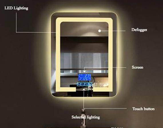Touch Light Backlight Mirror